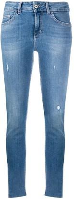 Liu Jo Mid Rise Slim Fit Jeans