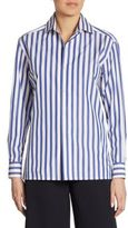 Ralph Lauren Iconic Capri Striped Cotton Shirt