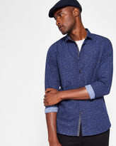 Ted Baker Nepped print cotton shirt