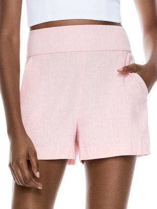 Alice + Olivia Donald High Waisted Short