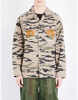 Maharishi Camouflage-print Cotton Jacket