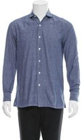 Salvatore Piccolo Chambray Button-Up Shirt