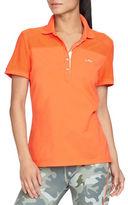 Lauren Ralph Lauren Mesh-Panel Polo Shirt