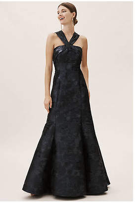Aidan Mattox Brook Wedding Guest Dress