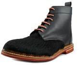 J Shoes Sutton Men Round Toe Suede Black Chukka Boot.