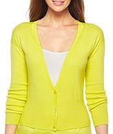 JCPenney Worthington® Essential Dolman-Sleeve Cardigan