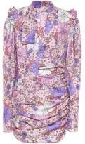 Magda Butrym Kartagena floral-printed silk dress