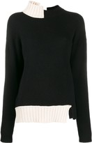 Marni two-toned knitted jumper