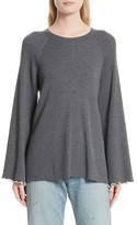 Elizabeth and James Women's Georgine Merino Wool Blend Sweater