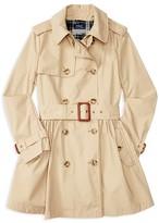 Ralph Lauren Girls' Trench Coat - Sizes 2-6X