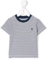 Ralph Lauren logo embroidered striped T-shirt