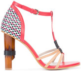 Jil Sander Navy high-heel sandals