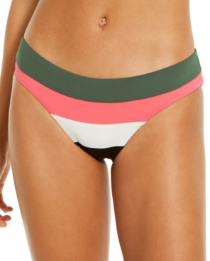 Becca Circuit Colorblock Hipster Bottoms Women's Swimsuit