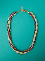 Diane von Furstenberg Glass Beaded Necklace