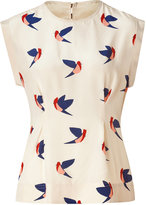Marc by Marc Jacobs Sandshell Multicolor Finch Flight Top