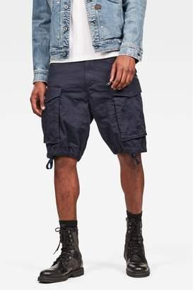 G Star Mens G-Star Beige Rovic Zip Pocket Short - Blue