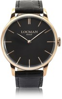 Locman 1960 Rose Gold PVD Stainless Steel Men's Watch