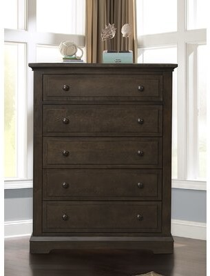 Child Craft Devon 5 Drawer Chest Color: Slate