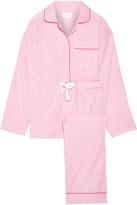 Three J NYC Jamie Striped Cotton-poplin Pajama Set - Pink