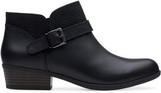Clarks Collection Addiy Sharilyn Leather Booties