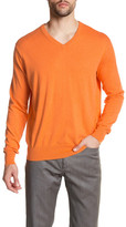 Peter Millar Long Sleeve V-Neck Sweater