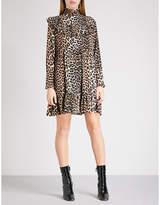 Ganni Fayette silk wrap blouse