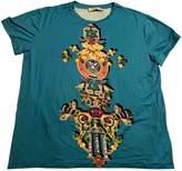 Mary Katrantzou Turquoise Cotton Top for Women