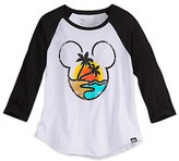 Disney Mickey Mouse Raglan Sleeve Tee for Women by Neff