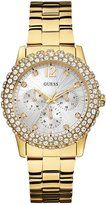 GUESS Gold-Tone Shimmering Sport Watch