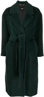 Paltò belted wool coat