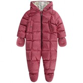 Burberry BurberryBaby Girls Pink Down Padded Skylar Snowsuit