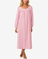 Eileen West Lace-Trimmed Knit Ballet-Length Nightgown