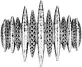 John Hardy Classic Chain Hammered & Chain Spear Cuff, Size S/M & M/L