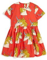 Mini Rodini Baby's, Toddler's, Little Girl's & Girl's Unicorn Printed Dress