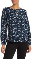 Yumi Kim Emma Floral Long Sleeve Silk Top