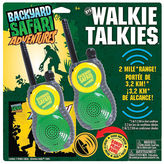 Backyard Safari Walkie Talkies 4-pc. Dress Up Accessory