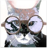 United Artworks Oh Pussy Cat Ii Canvas Print