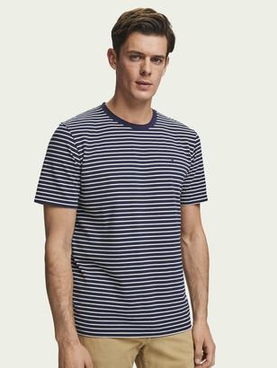 Scotch & Soda Classic Striped T-Shirt