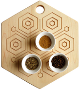 Maple Hex Reversible Trivet/Cutting/Serving Board
