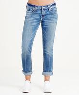True Religion Indigo Barrel Audrey Slim Boyfriend Super T Jeans