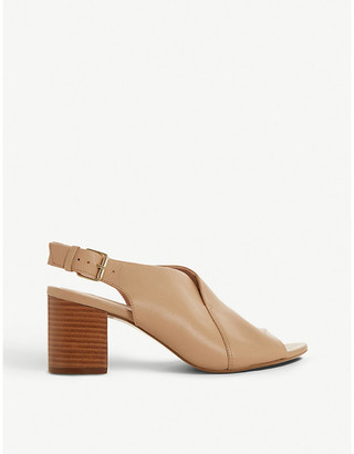Dune Ignus leather slingback sandals
