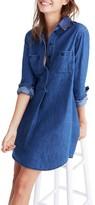Madewell Women's Denim Popover Shirtdress