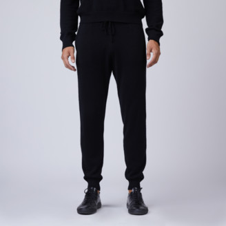 DSTLD Cashmere Joggers in Black