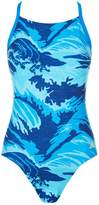 adidas Parley Swimsuit, Blue, L