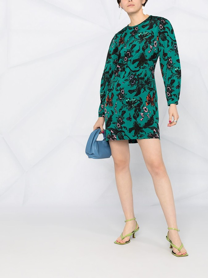 Thumbnail for your product : Diane von Furstenberg Collins mini shift dress