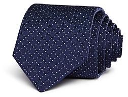 John Varvatos Circle & Pindot Classic Tie