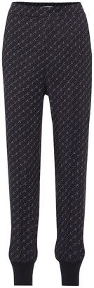 Stella McCartney Logo-printed trackpants