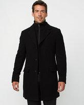 Le Château Velour Crombie Coat