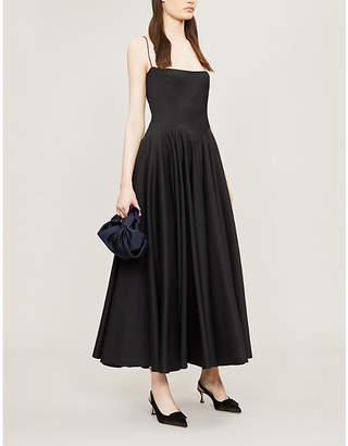 Emilia Wickstead x Woolmark Nico fit-and-flare wool dress