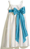 Us Angels Girl's A-Line Dress With Sash